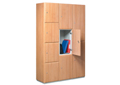 Wooden Lockers